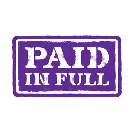 liquidate: Paid in full