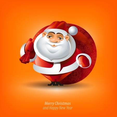 Merry Christmas & Happy New Year Vector
