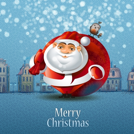 Merry Christmas. Vector illustration Vector