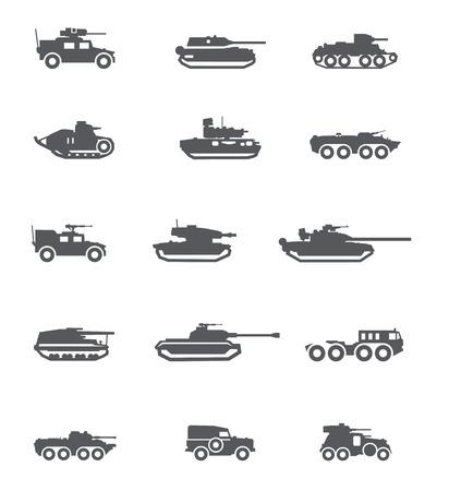tanque de guerra: Formato vectorial Army