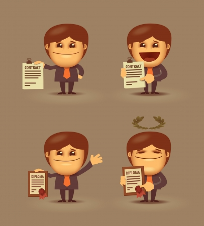Business  Document Vector