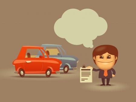 salesman: Business.Vector format