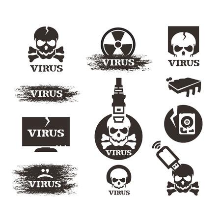 Virus. Vector format Stock Vector - 24021031