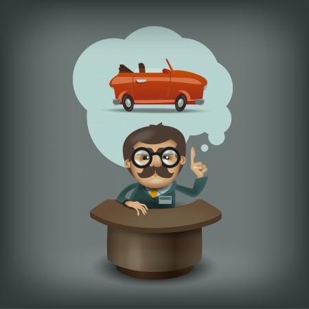 car showroom: Formato de vendedor de coches