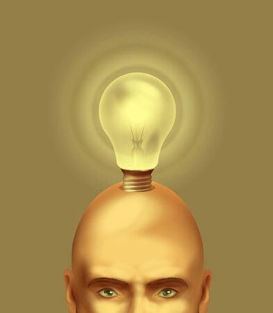 Idea. Vector format Illustration