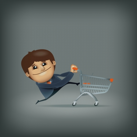 Shopping. Vector format Vector