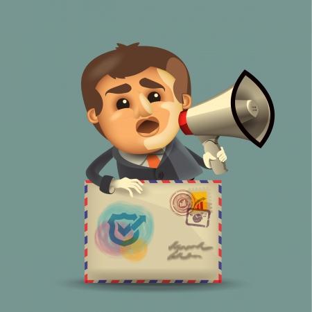 empresario: Empresario formato vectorial
