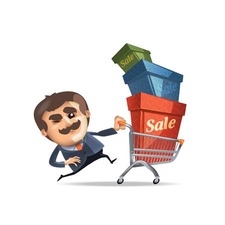 house clearance: Sale  Vector format