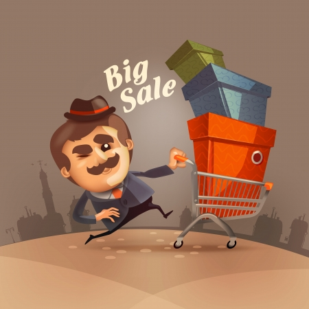 big sale: Big sale  Vector format Illustration