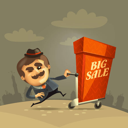 Big sale  Vector format Stock Vector - 24510572
