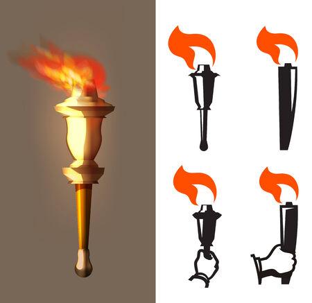 flame  Vector Format Vector