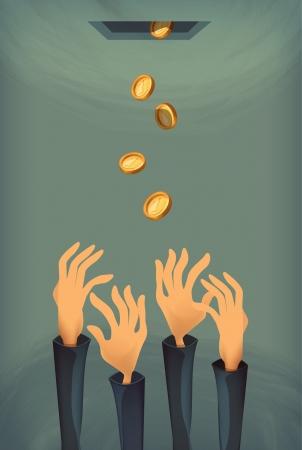 Money. Vector format Illustration