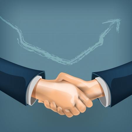joined hands: Handshake