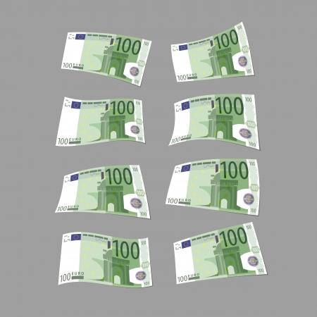 Euro  Vector format Illustration