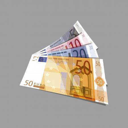 capital gains: Euros  Vector format