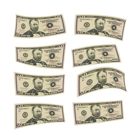 capitalismo: Formato Dinheiro D Ilustração