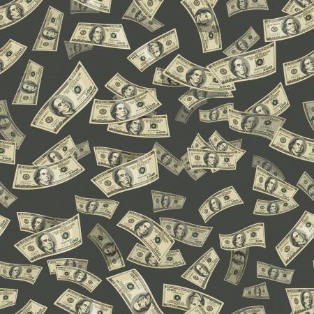 pack of dollars: Dollars  Vector format Illustration