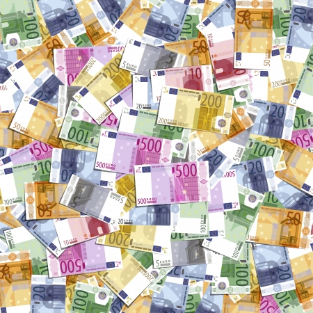 european exchange: Euro Illustration