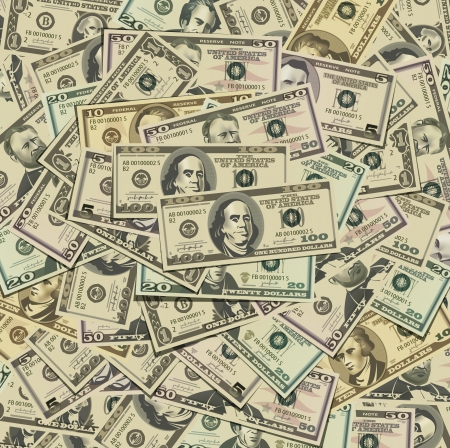 Dollars Vector