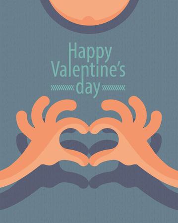 Happy valentine s day  Vector format Vector