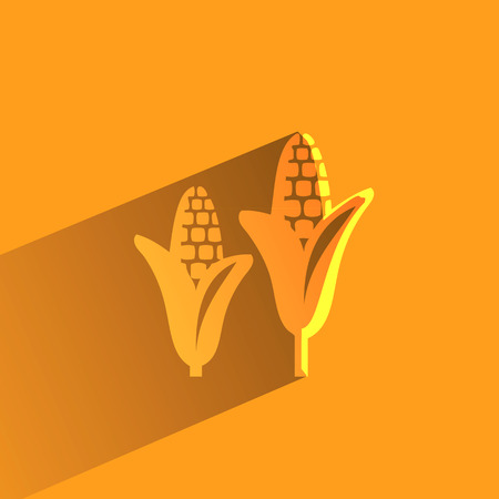 corncob: Corn  Vector format