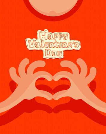 Happy valentine s day  Vector format Vector