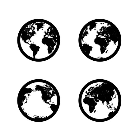 Planet Earth Vector format Vector