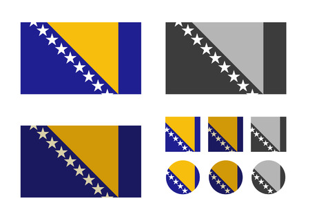 Bosnia and Herzegovina  Vector format Vector