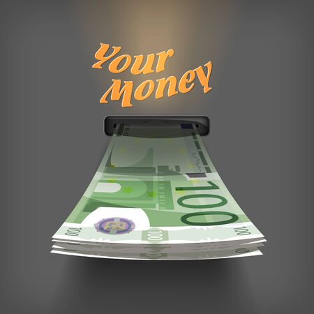 Euro money  Vector Format Vector