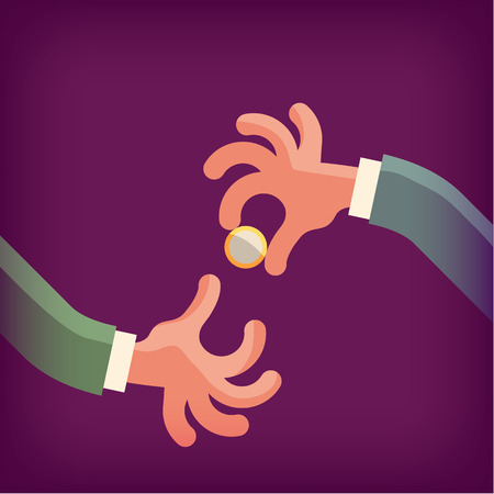 bribe: Business  Vector format Illustration