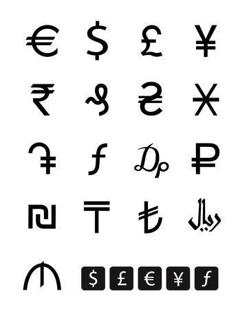 ghs: Ð¡urrency symbols  Vector format