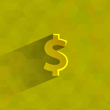 fiscal: Dollars  Vector format Illustration