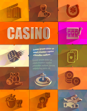 Casino  Vector format Vector