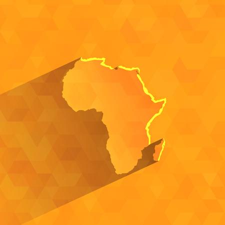 ethiopia: Africa  Vector format Illustration