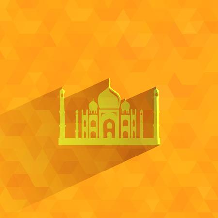 taj mahal: Taj Mahal  Vector format