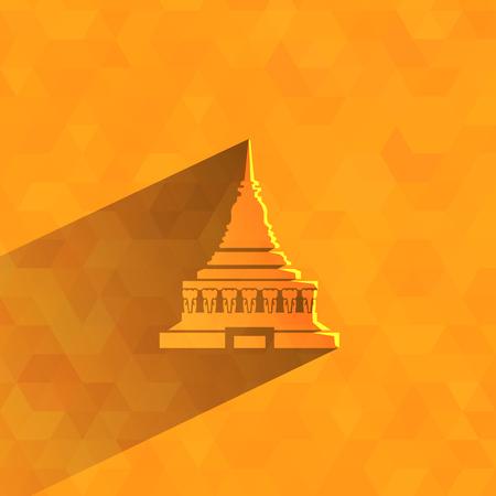 寺院象ベクター フォーマット