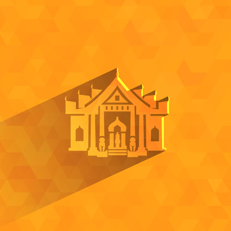 gable: Marble Temple  Vector format