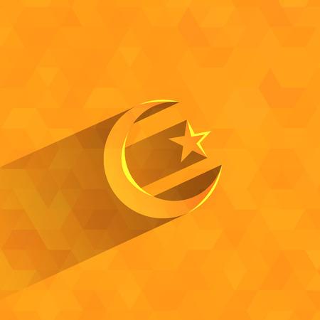 Islam symbol  Vector format