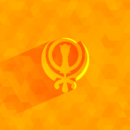 sikhism: Sikhism  Vector format Illustration