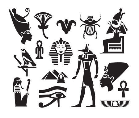 Format Egypte Vecteur