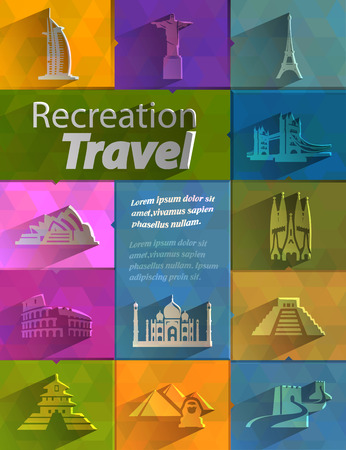 Recreation  Travel Vector