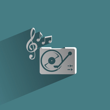 lever arm: Music  Vector format