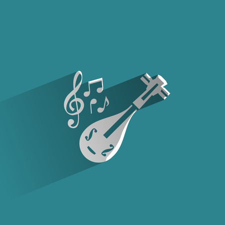 lyre: Music  Vector format