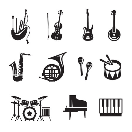 jazz drums: Music  Vector format
