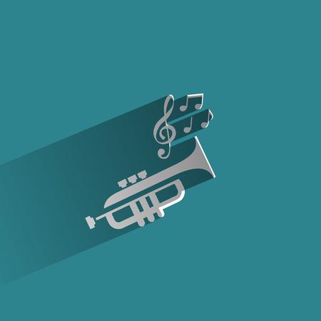 tuba: Music  Vector format