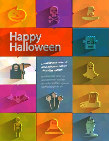 Happy Halloween  Vector format Vector