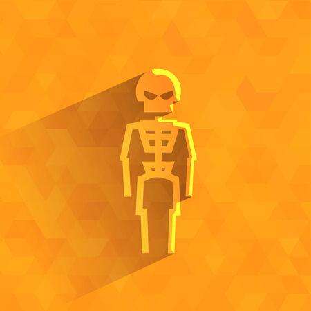 formato: Esqueleto formato vetorial