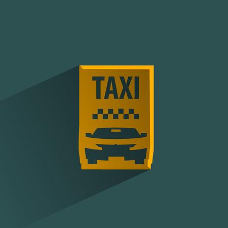 Taxi  Vector format