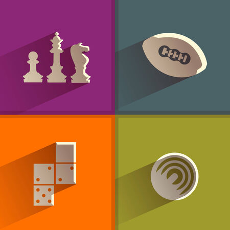 pawn king: Game  Vector format Illustration