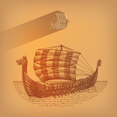 trireme: Shallop  Vector format